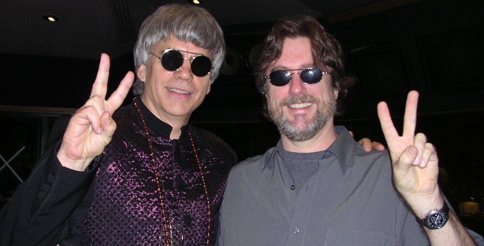 with Dave Benson