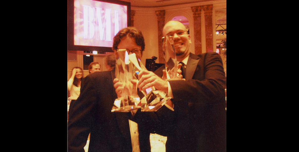 Ken Berry with Rob Cairns at BMI Awards